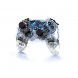 Mando Wireless Afterglow Azul para PS3