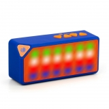 Altavoz con Bluetooth NGS Roller Flash - Azul