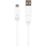 Cable Flat Micro USB CBMUSB03WH
