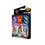 Disney Infinity 3.0 Toy Box Game Piece Takeover para videojuegos compatibles