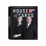 House of Cards Temporada 1-3 - Blu Ray