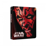 Star Wars I: La Amenaza Fantasma Steelbook - Blu Ray