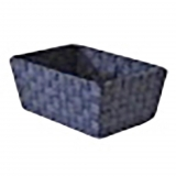 Cesta rectangular  Compactor Denim 32X23X16 cm