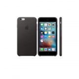 Funda de Piel para Iphone 6 Plus s - Negro