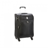 Trolley Extensible (+4 cm) Delsey Pin Up 4 Ruedas 65 cm, Negra