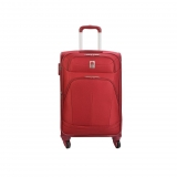 Trolley Extensible (+4 cm) Delsey Pin Up 4 Ruedas 65 cm, Roja