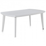 Mesa Extensible 170/225x90x73 cm - Atlantic. Blanca