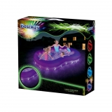 Piscina Hinchable 2 anillos con luz Color Wave 280x46x157 cm