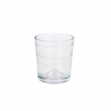 Set de 6 Vaso de Vidrio HOME STYLE Old Fashion Lacey 25cl - Transparente