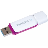 Memoria USB Philips 64 GB - Morada