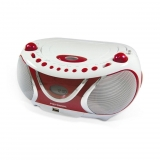 Radio CD MP3 Metronic - Blanco
