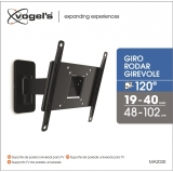 Soporte TV Vogel´s MA2030-B1 Turn Wall Mount 19