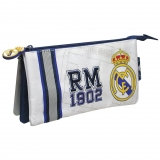 Portatodo Bordado Triple Real Madrid