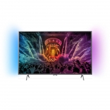 "TV LED 49"" PHILIPS 49PUS6401, 4K Ultra HD, Smart TV, Android, Ambilight, 8GB"