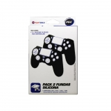 Pack 2 Fundas Silicona Playtools para PS4