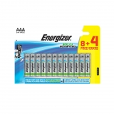 Pack de 8+4 Pilas Energizer Alto Rendimiento Eco Advanced LR 03 AAA