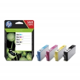 Pack 4 Cartucho de Tinta HP 364