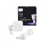 Philips HUE Kit LED inteligente 6.5W GU10 3 set EUR Iluminación Blanca y Color