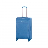 Trolley Mediano 4 Ruedas Nylon, Azul
