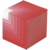ALTAVOZ NGS ROLLER CUBE ROJO