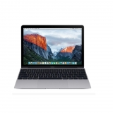 "Macbook MLH82Y/A 12"" Apple – Gris Espacial"
