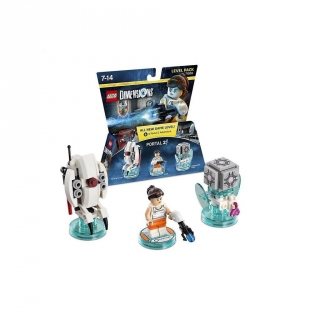 Figura Interactiva Level Pack Portal 2 Chell Lego Dimensions