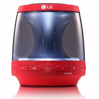 Altavoz LG PH1R con Bluetooth - Rojo