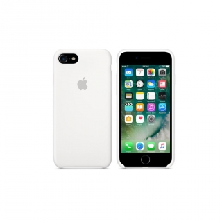 Funda de Silicona para iPhone 7 – Blanco