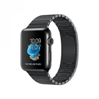 Apple Watch Series 2 Caja de 42 mm de Acero Inoxidable Negro Espacial  y Pulsera de Eslabones