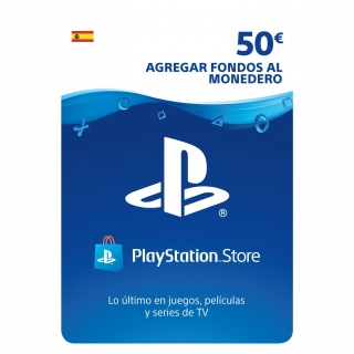 Prepago Playstantion Network 50€