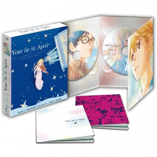 Your Lie in April Parte 2 Episodios 12 a 22 Edición Coleccionistas - Blu Ray
