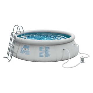CARREFOUR QUICK SET. Piscina Redonda Hinchable Ø366x91 cm
