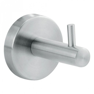Percha de baño  de Metal CARREFOUR HOME   6,8cm  - Metalizado