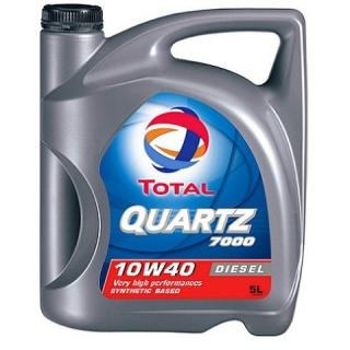 Aceite motor total quartz diesel 7000 10w40 5l las for Aceite 5w40 carrefour