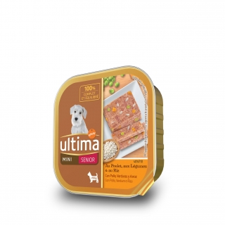 Alimento Húmedo Ultima Dog Senior Pollo 150 gr