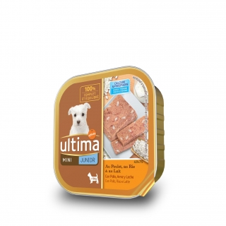 Alimento Húmedo Ultima Dog Mini Junior 150 gr