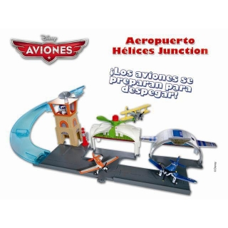 Disney Planes Aeropuerto Hélices Junction