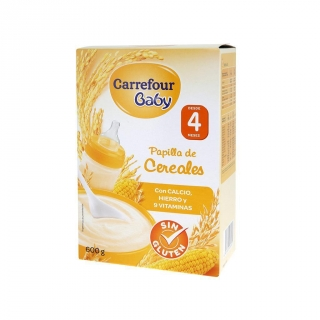 Cereales Carrefour sin Gluten 600 gr