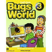 BUGS WORLD 3 ALUM MACMILLAN