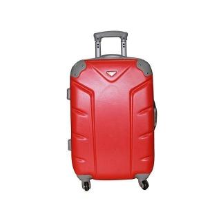 Trolley 4 ruedas abs 61 cm rojo las mejores ofertas de - Maleta viaje carrefour ...