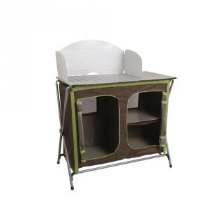 Mueble de cocina camping 110 cm las mejores ofertas de for Cocina camping gas carrefour