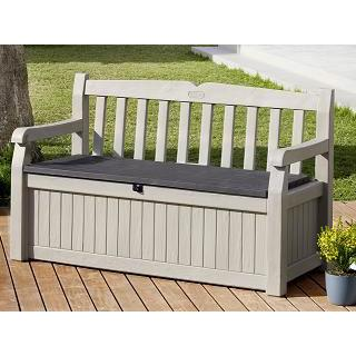 Banco para jard n ed n garden bench las mejores ofertas for Casetas de resina para jardin