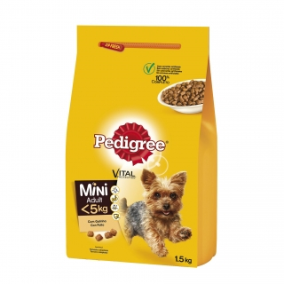 Saco de pienso Pedigree para razas mini adultas