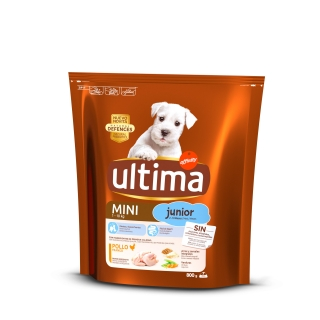 Alimento Seco Ultima Dog Mini Junior 800 gr