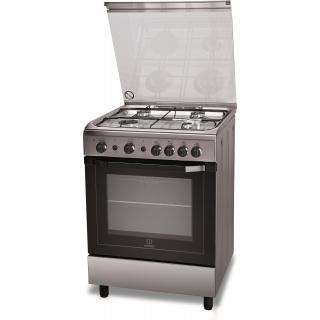 Cocina gas natural indesit i6gg1f x p las mejores - Cocinas a gas natural ...