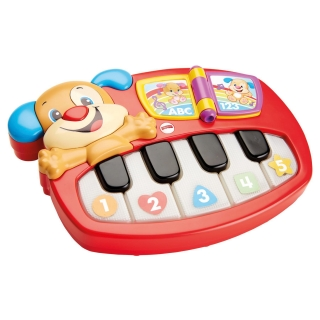 Mattel - Fisher-Price Piano Perrito Aprendizaje
