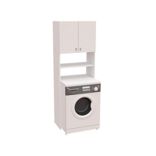 Mueble lavadora con 2 puertas meka block las mejores for Mueble para lavadora ikea