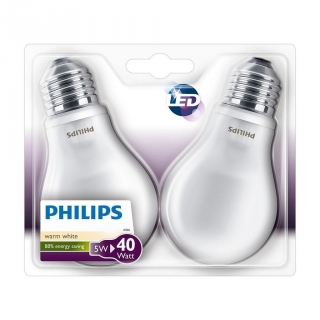Pack 2 Bombillas Estándar LED 6W/40E27