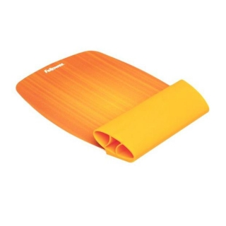 Alfombrilla Fellowes Reposamuñecas Flexible - Naranja