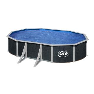 Piscina ovalada rattan 610x375x120cm las mejores ofertas for Filtro piscina carrefour